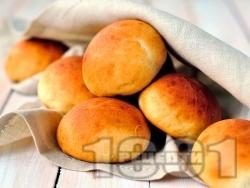 Домашни питки с кимион (със суха мая) - снимка на рецептата